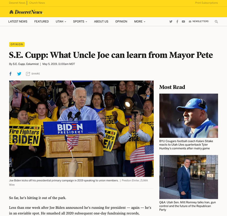 S_E__Cupp__What_Uncle_Joe_can_learn_from_Mayor_Pete_-_Deseret_News